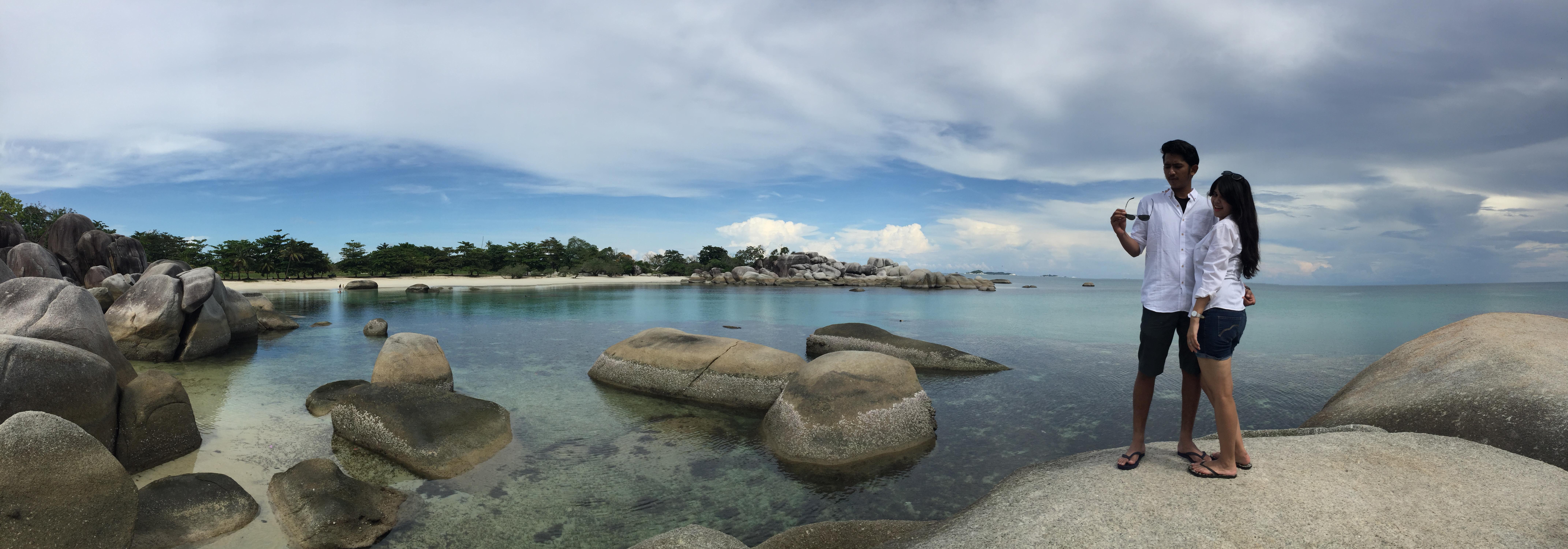 Destinasi Wisata di Belitung – Pantai Penyabong