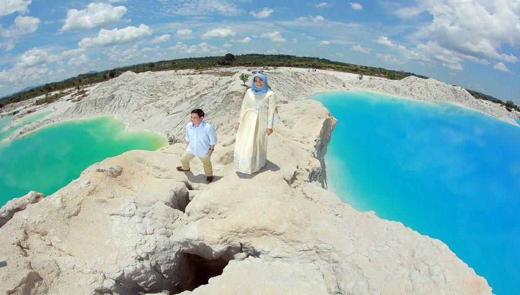 Danau Kaolin, Tempat Wisata di Belitung yang Eksotis